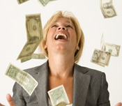 woman-with-falling-money